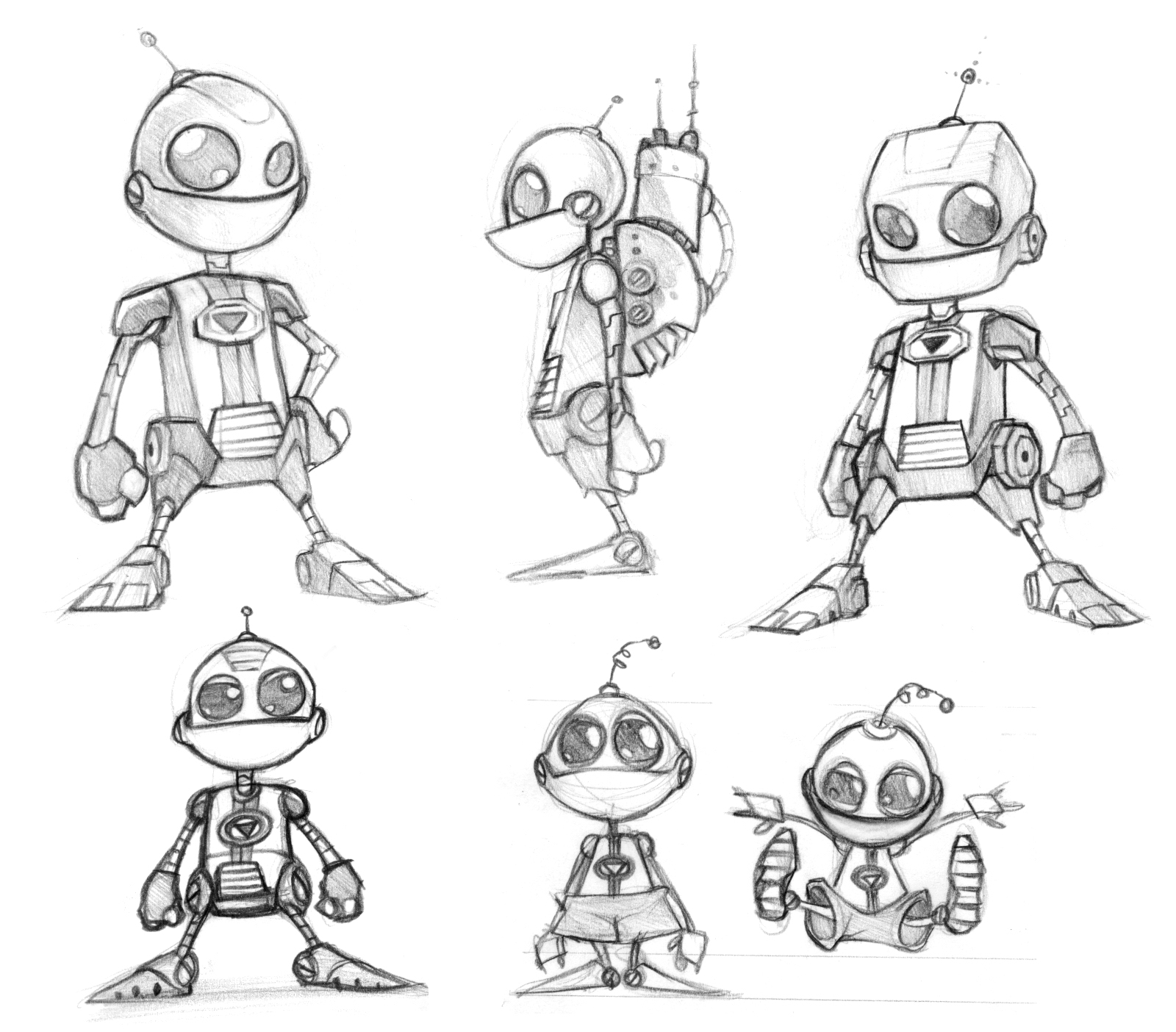 Concept Of Character Design : Ratchet clank years of concept art insomniac games