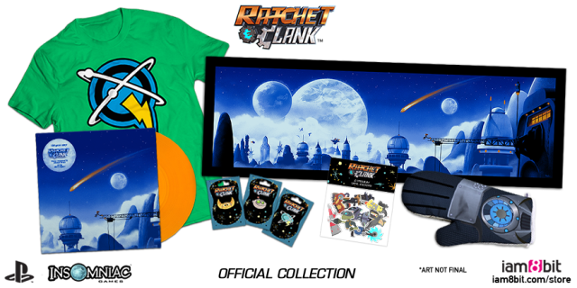 Official iam8bit Ratchet & Clank Collection