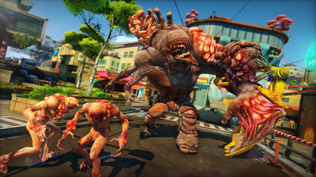 The Herker OD is one of many different enemies you'll face in Sunset Overdrive.