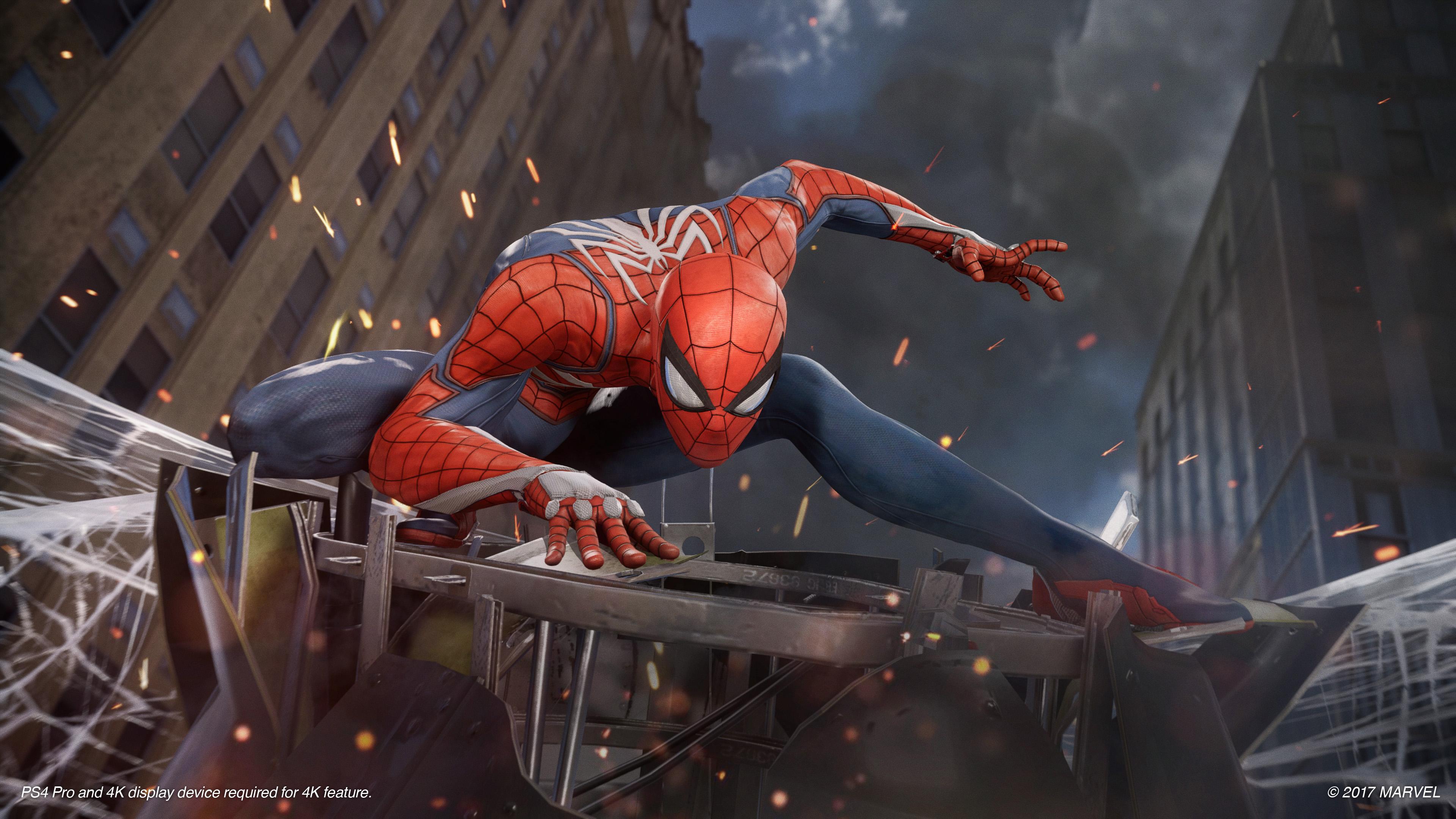 Spiderman: Insomniac Games